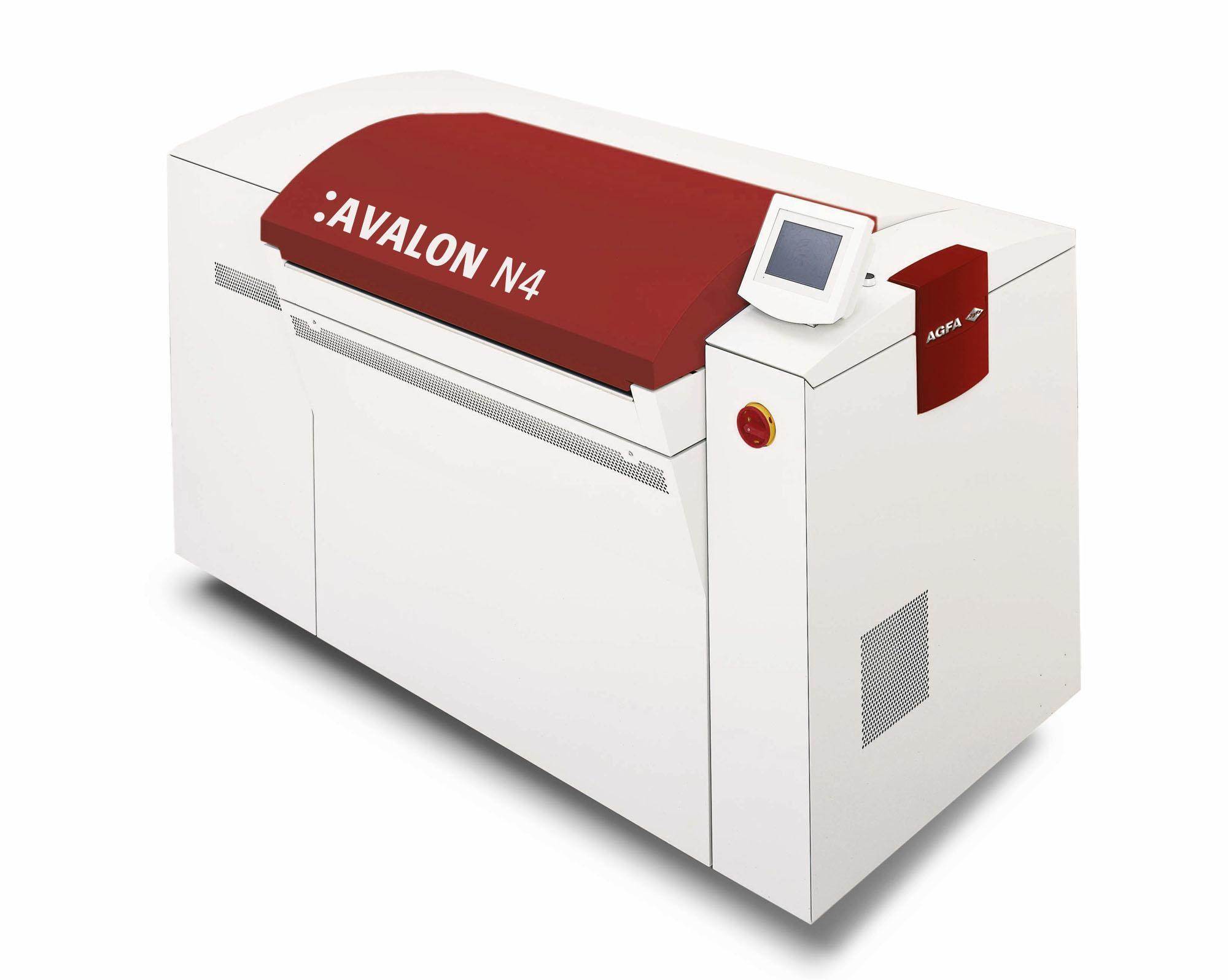 naświetlarka ctp Avalon N4 - AGFA